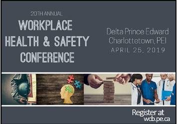 WCB Workplace Health & Safety Conference With Key Note Speaker Curtis Weber